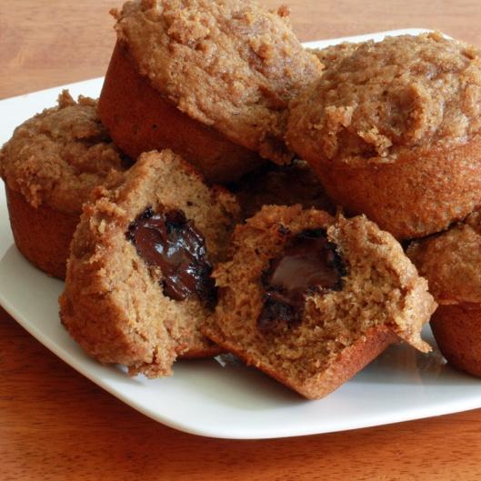 Banana Truffle Muffins 2