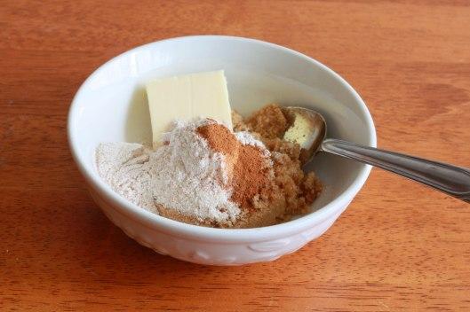 Banana Truffle Muffins prep 4