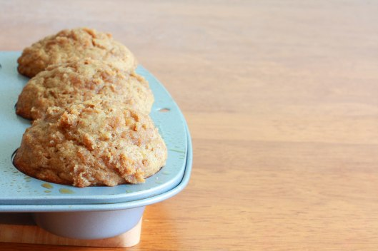 Banana Truffle Muffins prep 7
