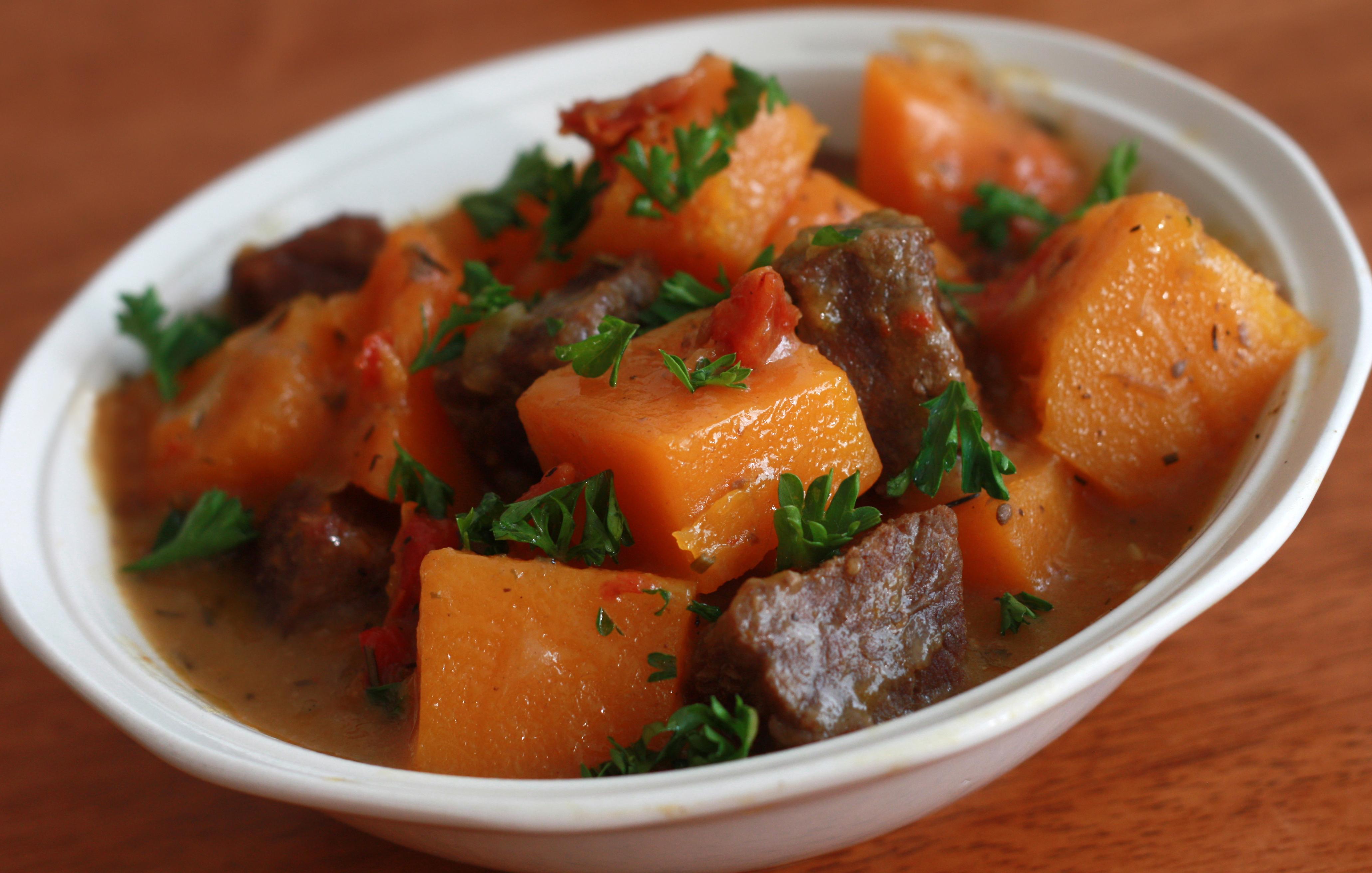 Beef Butternut Squash Stew 1 copyright