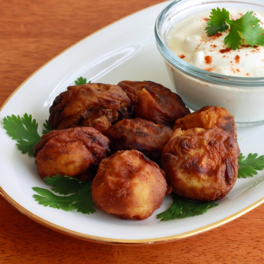 Tandoori Fried Mushrooms