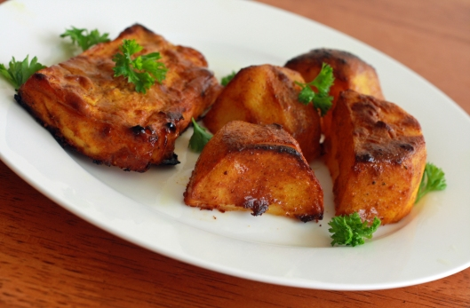 Tandoori Tofu and Tandoori Roasted Potatoes 2 copyright